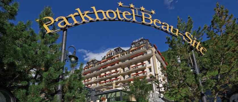 Parkhotel Beau Site, Zermatt, Switzerland - entrance exterior.jpg